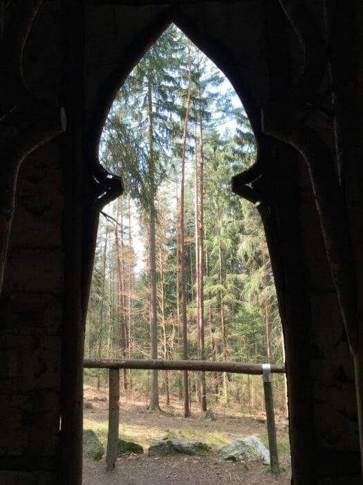 Das Vogtland entdecken – Bad Elster - Kreuzkapelle