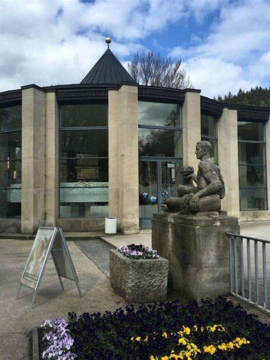 Das Vogtland entdecken – Bad Elster – Wandelhalle