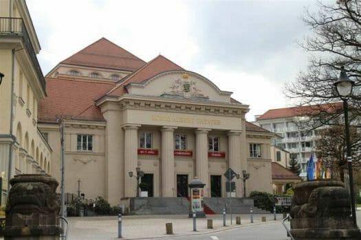 König Albert Theater in Bad Elster - Vogtland Ausflugstipp Kultur