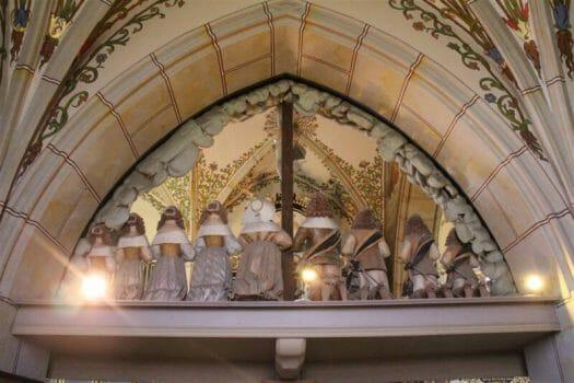 Die Bergkirche in Schleiz - Das Burgksche Epitaph