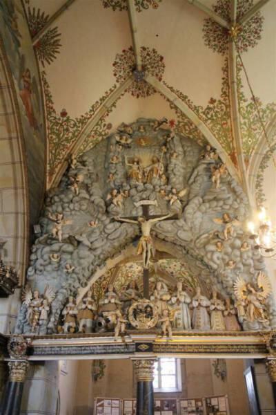 Das Burgksche Epitaph in der Bergkirche Schleiz