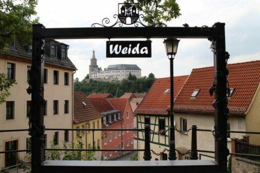 Die Osterburg in Weida - die Wiege des Vogtlands