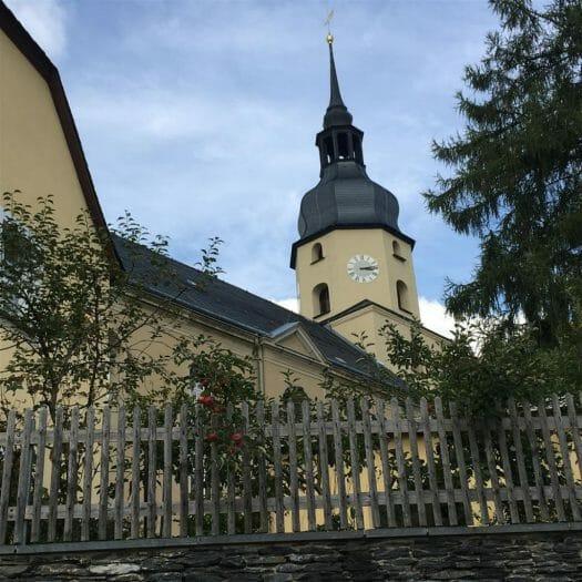 Ausflug nach Treuen im Vogtland: Die Kirche
