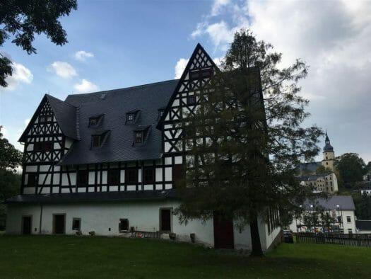 Urlaub im Vogtland - Ausflugstipp - Das Schloss in Treuen