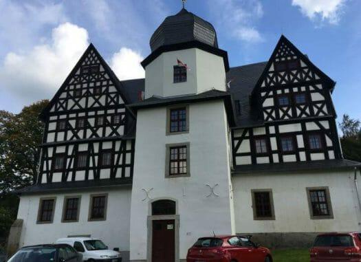 Schloss Treuen mit dem Herrenhaus