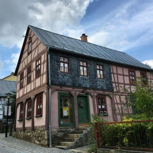Ausflugstipp für das Vogtland: Die Umgebindehäuser in Treuen