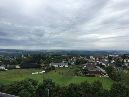 Blick über das Vogtland vom Wasserturm in Neundorf - Tipp