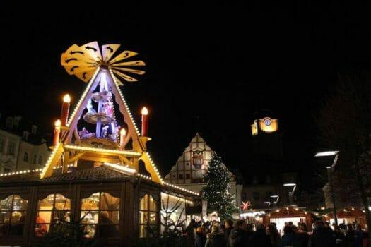 Weihnachtsmarkt Plauen - Ausflugsziel in der Weihnachtszeit - Vogtland-Zauber