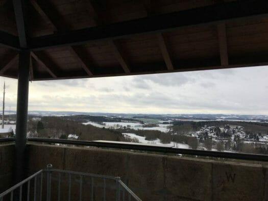Ausflugsziel im Vogtland - der Kemmlerturm in Plauen