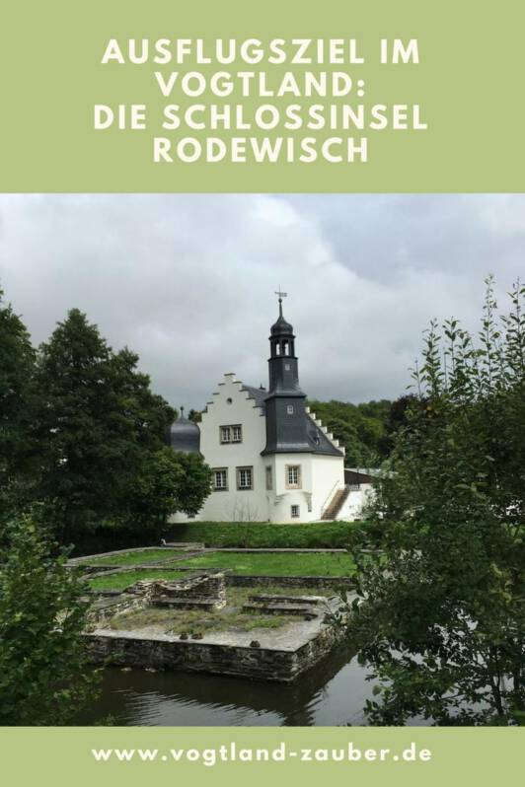 Ausflugsziel: Schlossinsel in Rodewisch im Vogtland