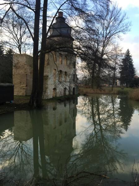 Ausflugstipp / Sehenswertes im Vogtland - Wasserschloss Geilsdorf im Burgsteingebiet