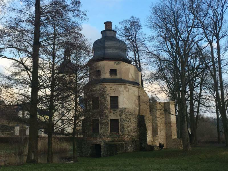 Ausflugstipp / Sehenswertes im Vogtland - Wasserschloss Geilsdorf
