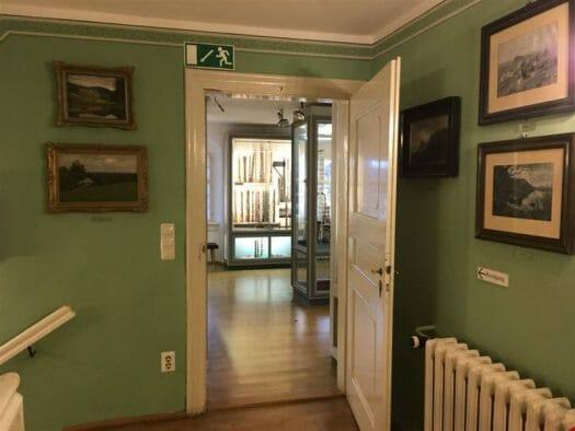 Das Musikinstrumentenmuseum in Markneukirchen ist im Paulus Schlössl untergebracht
