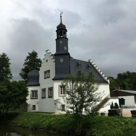 Ausflugsziel im Vogtland - Die Schlossinsel Rodewisch