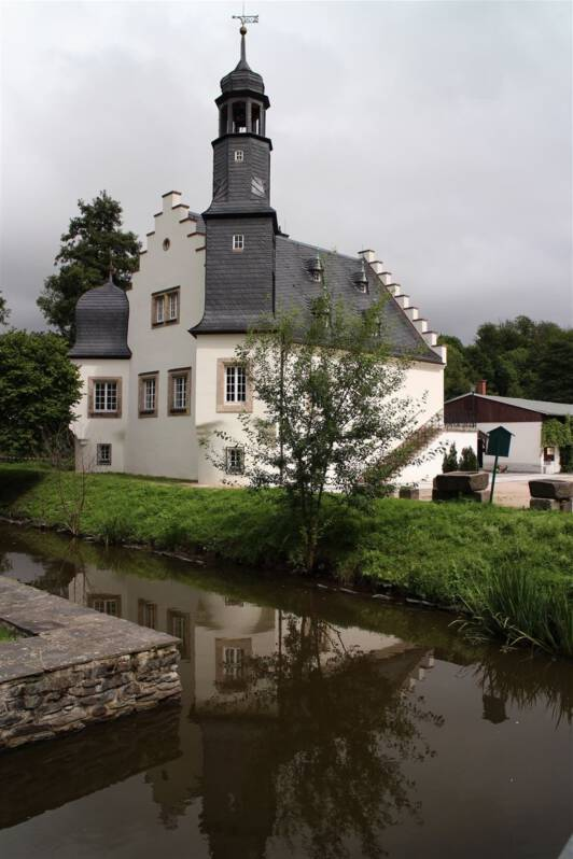 Schlossinsel in Rodewisch im Vogtland