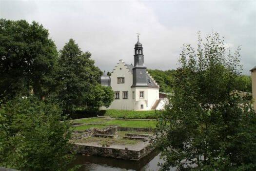 """Das Schloss in Rodewisch (Vogtland) und die Reste vom """"Festen Hus"""""""