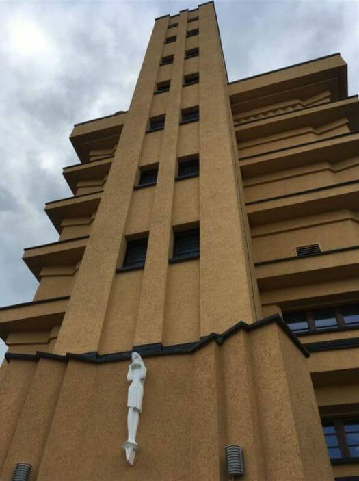 Architekt Rudolf Ladewig - neue Sachlichkeit in Reichenbach im Vogtland - der Wasserturm