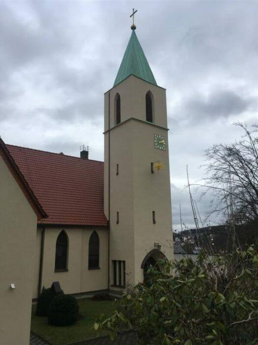 Architekt Rudolf Ladewig - neue Sachlichkeit in Reichenbach im Vogtland - St. Marien