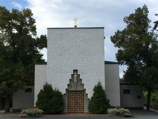 Architekt Rudolf Ladewig - neue Sachlichkeit in Reichenbach im Vogtland - Krematorium