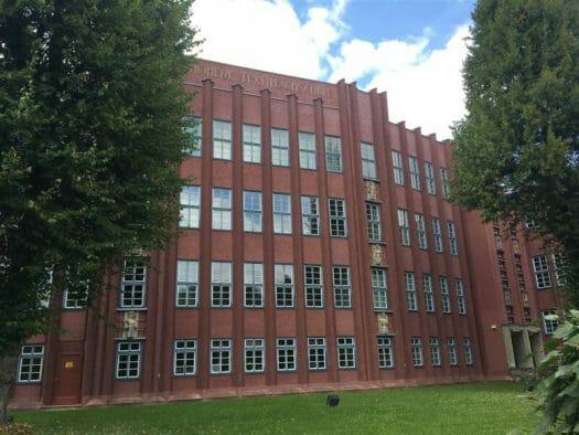 Architekt Rudolf Ladewig - neue Sachlichkeit in Reichenbach im Vogtland - Höhere Textilfachschule