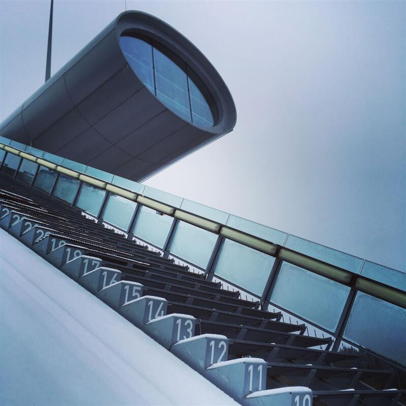 Vogtland Arena Klingenthal - Aussichtspunkt - Schanze