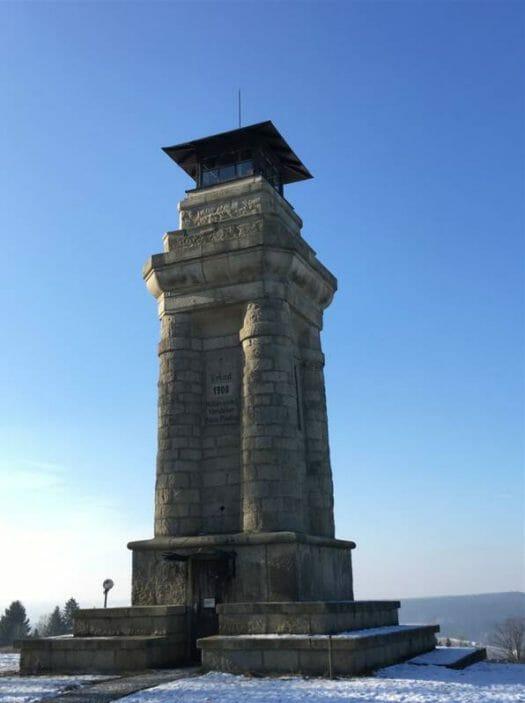 Ausflugstipp im oberen Vogtland - der Bismarckturm in Markneukirchen