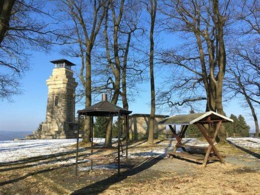 Sehenswürdigkeit im oberen Vogtland - der Bismarckturm in Markneukirchen
