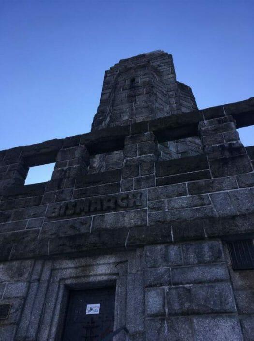 Ausflugstipp im bayerischen Vogtland - der Bismarckturm in Hof