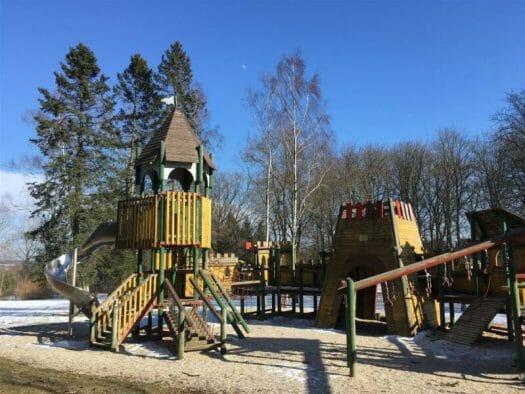 Ausflugsziel für Familien im bayerischen Vogtland - der Bismarckturm in Hof
