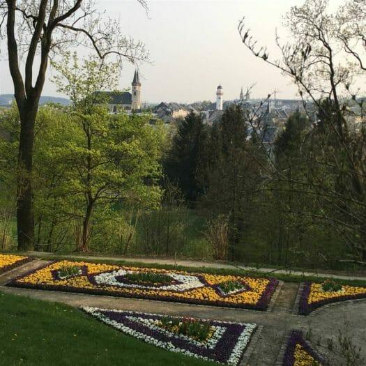 Frühling Ausflug - Aussichtspunkte im Vogtland - Hof Theresienstein