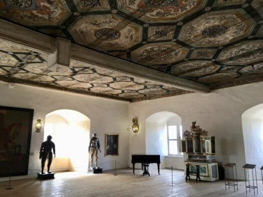 Der Rittersaal im Schloss Burgk