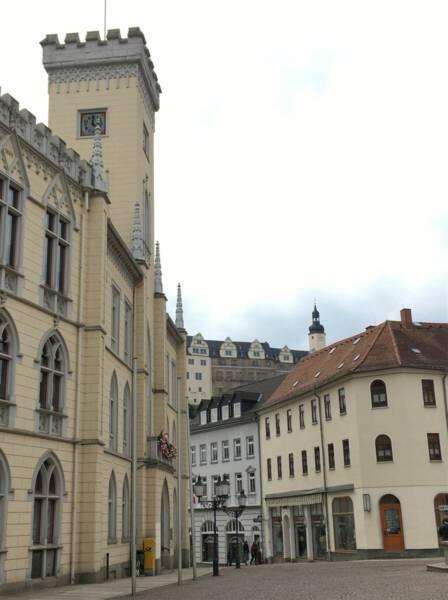 Ausflugstipp im Vogtland / Thüringen – Stadtrundgang in Greiz - Rathaus