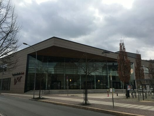 Vogtlandhalle in Greiz