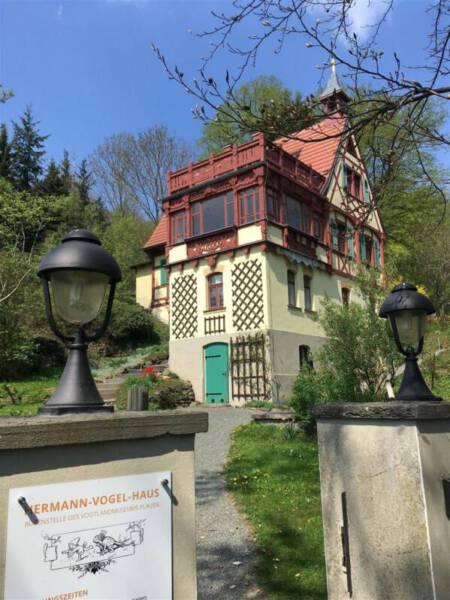 Das Hermann-Vogel-Haus in Krebes - Ausflugstipp im Vogtland / Sachsen