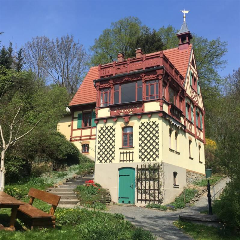 Das Hermann-Vogel-Haus in Krebes - Ausflugstipp im Vogtland / Sachsen / Museum