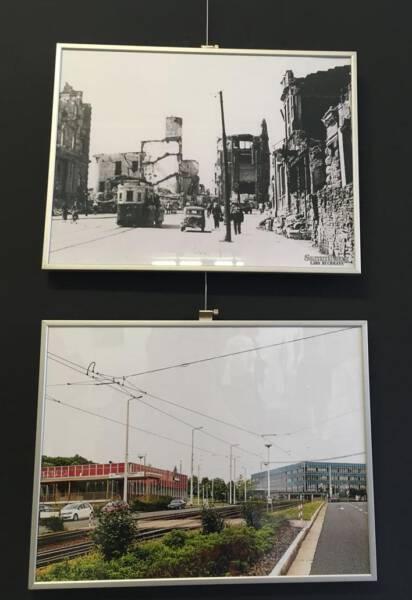 Galerie Forum K - historische Aufnahmen aus Plauen