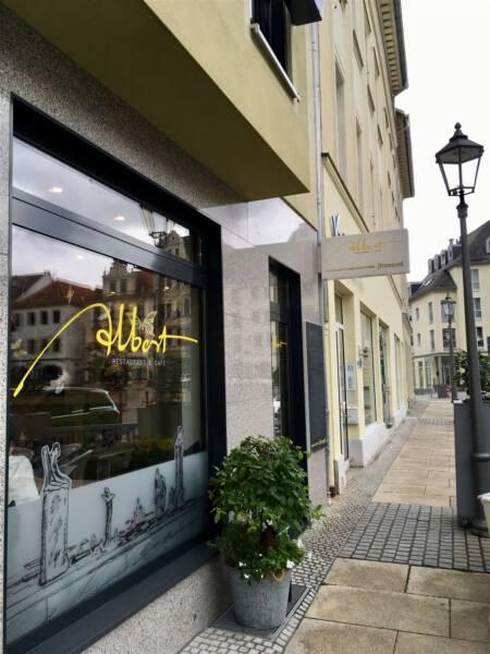 Cafè Albert in Plauen - Empfehlung / Tipp für ein gemütliches Kaffeetrinken
