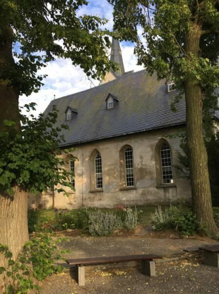 Ausflugsziel im Vogtland / Sachsen - Talsperre Pöhl - Kapelle in Altensalz