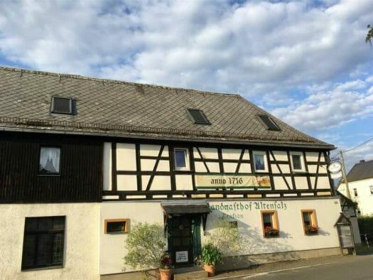 Ausflugsziel im Vogtland / Sachsen - Talsperre Pöhl - Gasthof und Pension in Altensalz