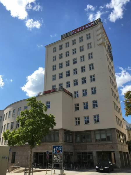 Bauhaus in Gera / Thüringen - Handelshof - Hochhaus - Sparkasse