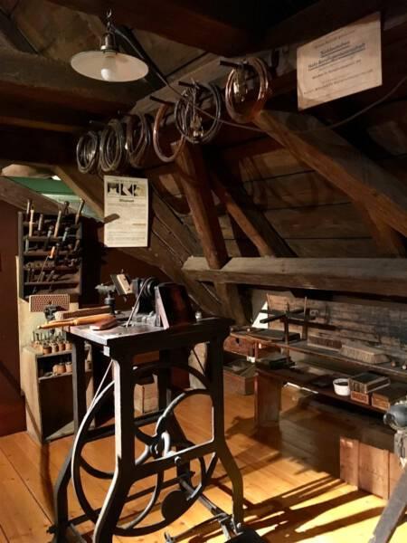 Bürstenmacher Museum Bayerisches Vogtland in Hof