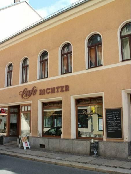 Kaffeehausflair m Café Richter in Reichenbach / Vogtland / Sachsen
