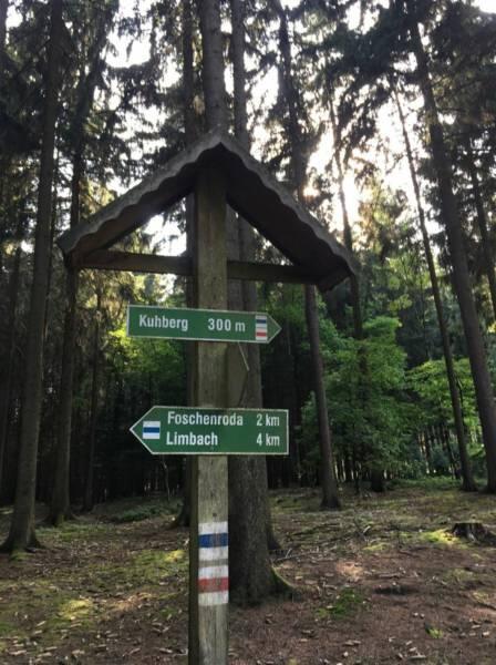 Wanderung für die ganze Familie - Der Turm auf dem Kuhberg im Vogtland / Sachsen