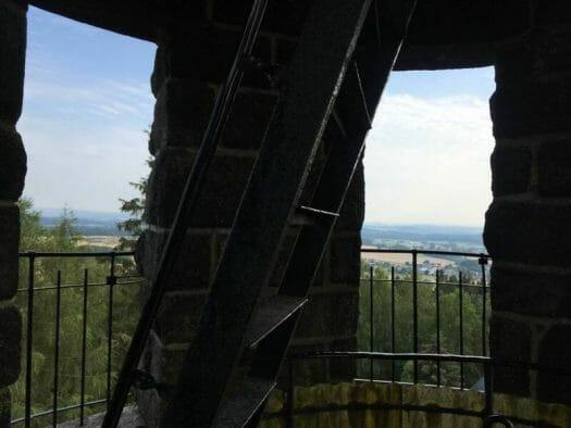 Ausflug für die ganze Familie - Der Turm auf dem Kuhberg im Vogtland / Sachsen