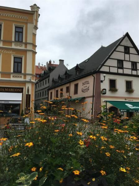 Ausflug nach Loket bei Karlsbad in Tschechien