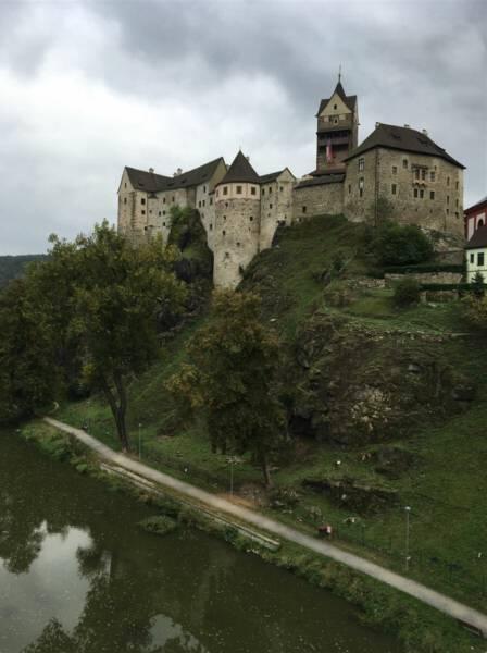 Ausflug nach Loket bei Karlsbad in Tschechien - Die Burg