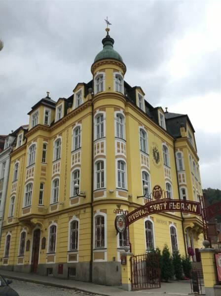 Empfehlung für einen Besuch: die Brauerei Svaty Florian in Loket