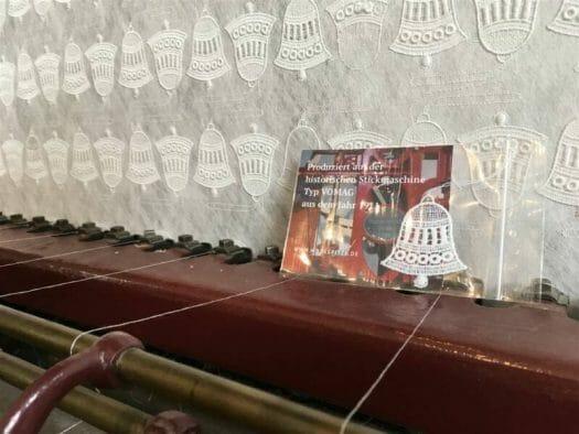 Ein Souvenir, das direkt in Plauen gefertigt wird - Plauener Spitze