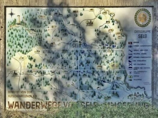 Selb - Ausflug in die Stadt des Porzellan in Bayern - Wandern rund um Selb
