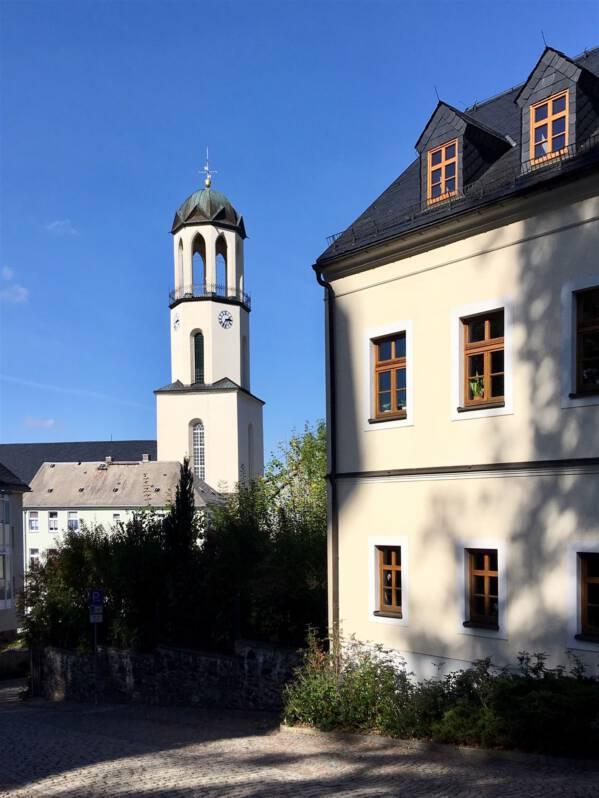 Ein Ausflug nach Auerbach / Vogtland / Sachsen